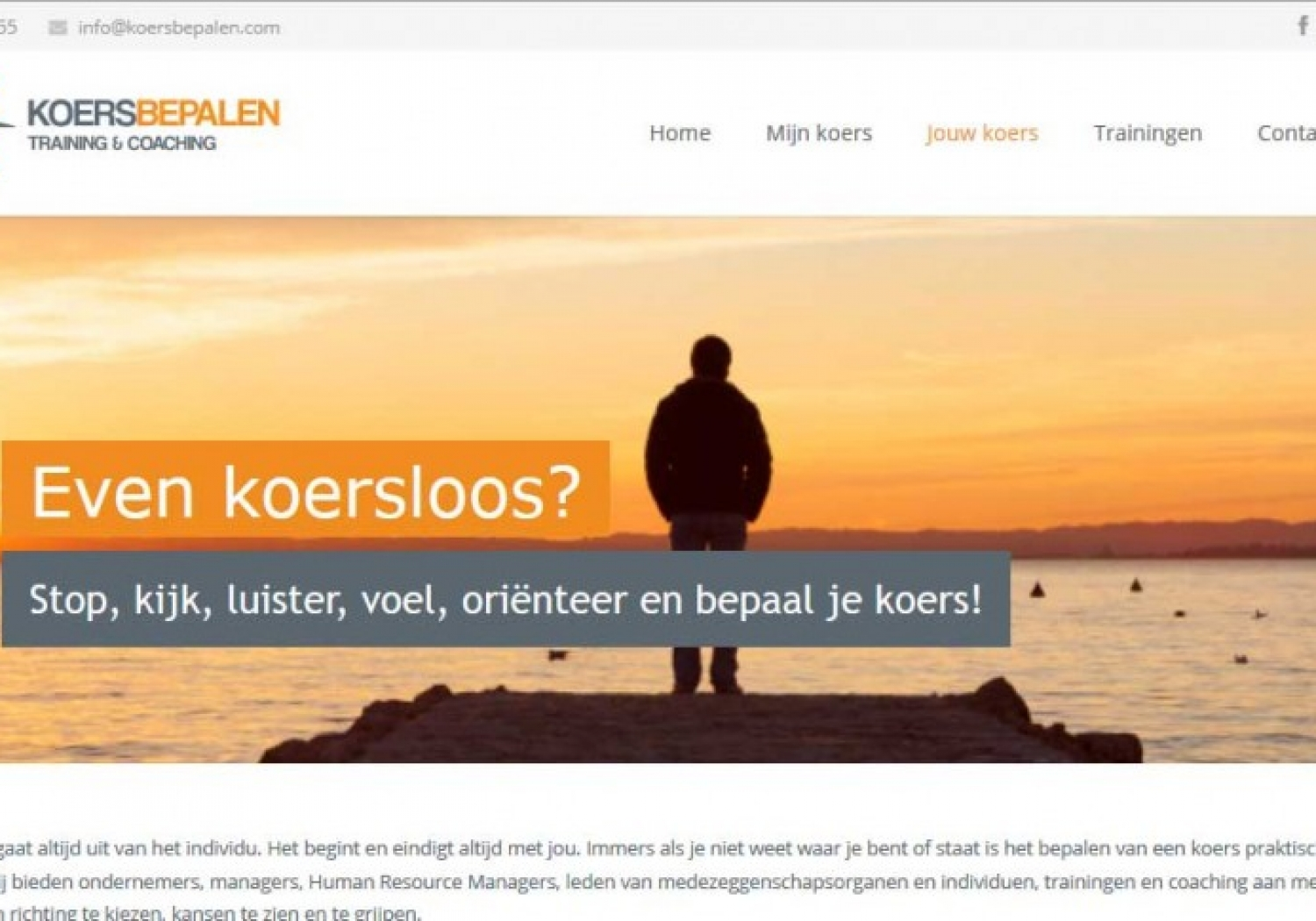 Website Koersbepalen